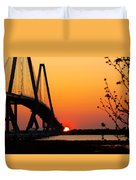 At The End Of The Bridge Duvet Cover