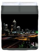 Atlanta Expressway Duvet Cover