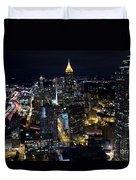 Atlanta Georgia - Evening Commute Duvet Cover