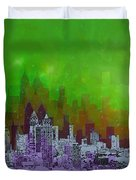 Atlanta Skyline 4 Duvet Cover