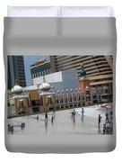 Atlantic City Hotels Board Walks Beaches Entertainment Centres Tajmahal Hotel Americas Best Photogra Duvet Cover