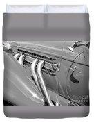 Auburn Boattail Speedster Duvet Cover