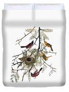 Audubon: Oriole Duvet Cover