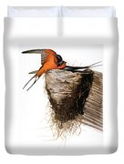 Audubon: Swallow Duvet Cover