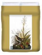 Audubon: Thrush Duvet Cover
