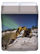 Aurora Machine Duvet Cover