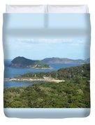 Australia - Broken Bay's Lion Island Duvet Cover