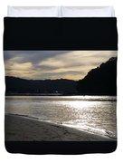 Australia - Sun Glistens On Umina Beach Duvet Cover