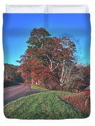 Autumn Countryside - North Carolina Duvet Cover