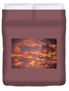 Autumn Sky Duvet Cover by Konstantin Dikovsky