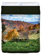 Autumn This Side Of Heaven Duvet Cover