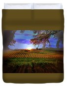 Autumn Vineyard Duvet Cover