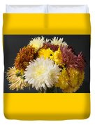 Autumn Yellow Flower Duvet Cover