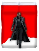 Avengers Nick Fury Collection Duvet Cover