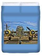 B-25 Mitchell Duvet Cover