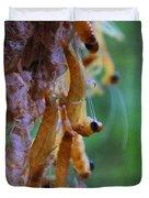 Baby Praying Mantises Duvet Cover