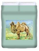 Bactrian Camel, Endangered Species Duvet Cover