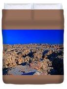 Badlands At Sunset Duvet Cover