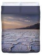 Badwater Salt Flats 1 Duvet Cover