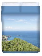 Bali North Coast Duvet Cover