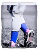 Ball Player Duvet Cover