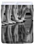 Ballet Class Duvet Cover