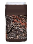 Banded Gneiss Rock Duvet Cover