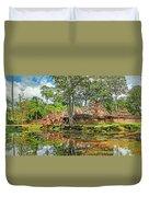 Banteay Srei Temple - Cambodia Duvet Cover
