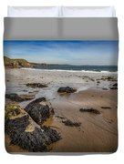 Barafundle Bay Duvet Cover