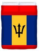 Barbados Flag Duvet Cover