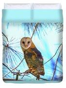 Barn Owl Beauty Duvet Cover