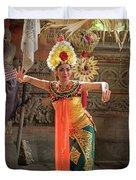 Barong Dancer Duvet Cover