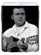 Barry Sadler With Guitar 3 Tucson Arizona 1971 Duvet Cover