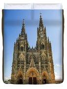 Basilique Notre - Dame De L'epine Duvet Cover