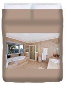 Bathroom And Spa Bath Duvet Cover