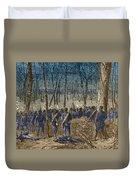 Battle Of The Wilderness, 1864 Duvet Cover