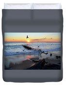Bay Head Sunrise Duvet Cover