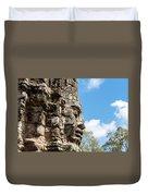 Bayon Temple, Anghor Duvet Cover
