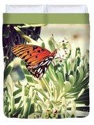 Beach Butterfly Duvet Cover