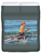 Beach Enterprise Duvet Cover