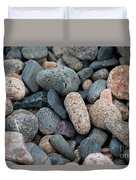 Beach Of Stones Duvet Cover