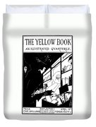 Beardsley: Yellow Book Duvet Cover