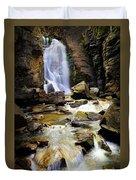 Beartooth Falls Duvet Cover