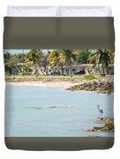 Beautiful Beach And Ocean Scenes In Florida Keys Duvet Cover