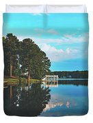 Beautiful Bunn Lake - Zebulon, North Carolina Duvet Cover