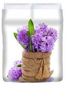 Beautiful Hyacinths Duvet Cover