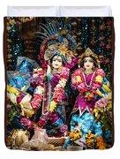 Beautiful Image Of Krishna And Radhe From Boise Hare Krishna Temple Duvet Cover