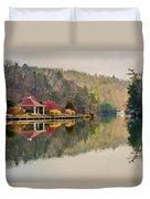 Beautiful Landscape Near Lake Lure North Carolina Duvet Cover