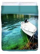 Greek Vacations Duvet Cover