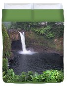 Beautiful Rainbow Falls 2 Duvet Cover